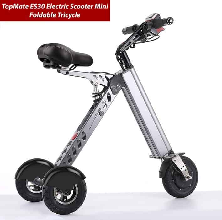 TopMate-ES30-Electric-Scooter-Mini-Foldable-Tricycle