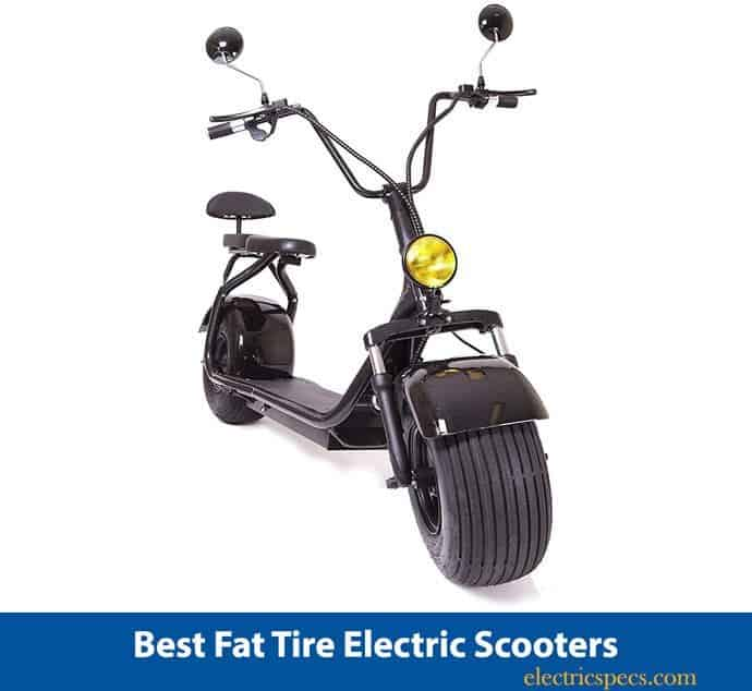 eDrift ES295 2.0 Electric Fat Tire Scooter
